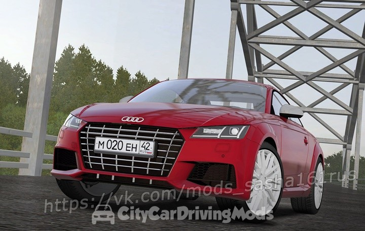Audi TT RS 2018 – City Car Driving Mods Place, Ccdmods download