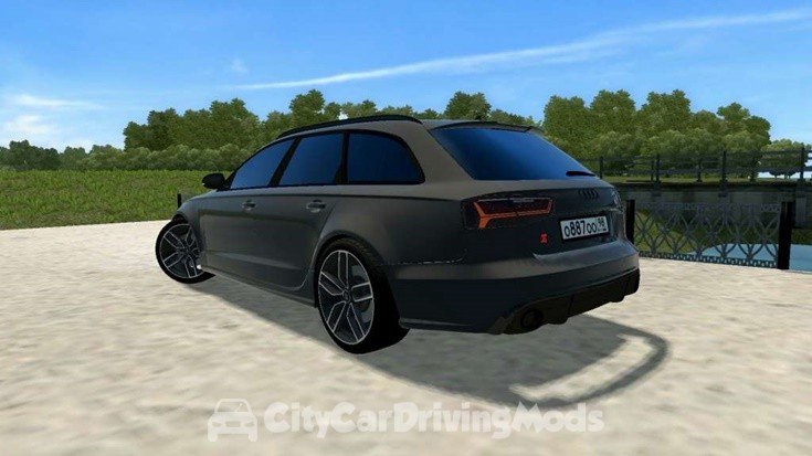 Audi RS6 C7 – City Car Driving Mods Place, Ccdmods download